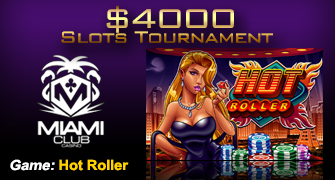Online Slots Tournament at Miami Club Online Casino