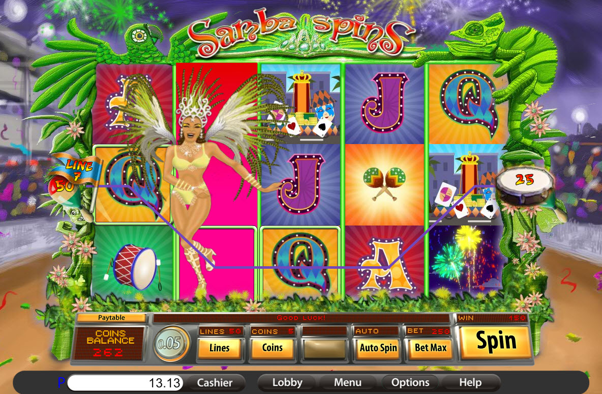 Samba Spins Slot Machine Online ᐈ Saucify™ Casino Slots